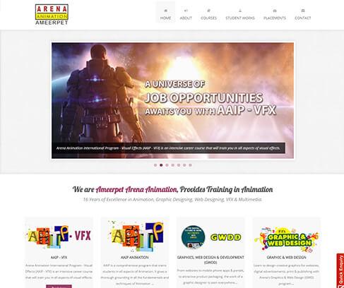 Website Design Development Services Hosting Services Hyderabad Srig Systems