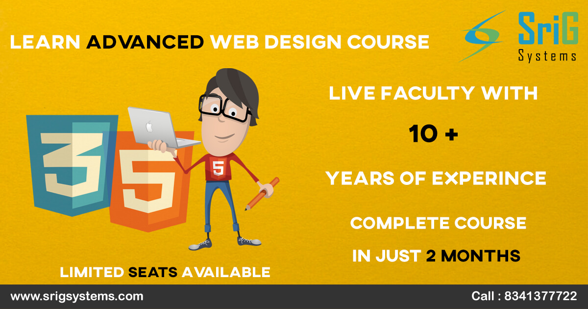 Website Design Course Web Designing Classroom Training Hyderabad